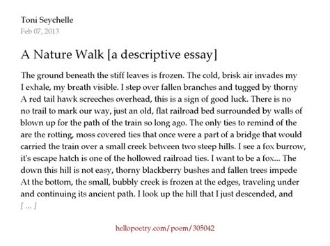 How to write a descriptive essay 14 steps with pictures jpg 640x477