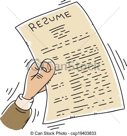 Resume cartoon royalty free gograph jpg 439x470